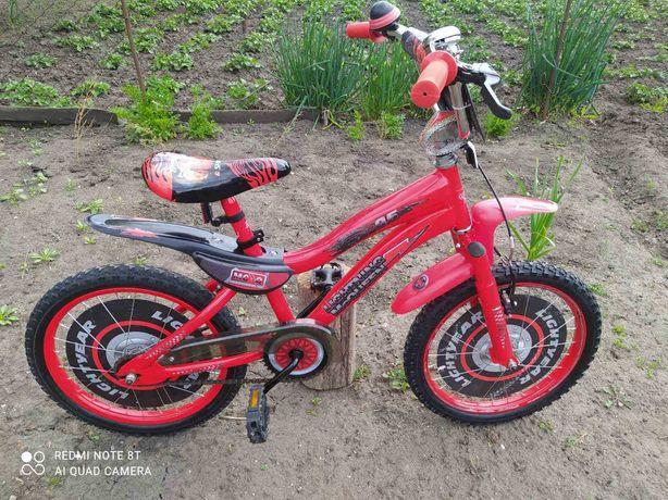 Детский велосипед Тачки Молния Маквин d 18