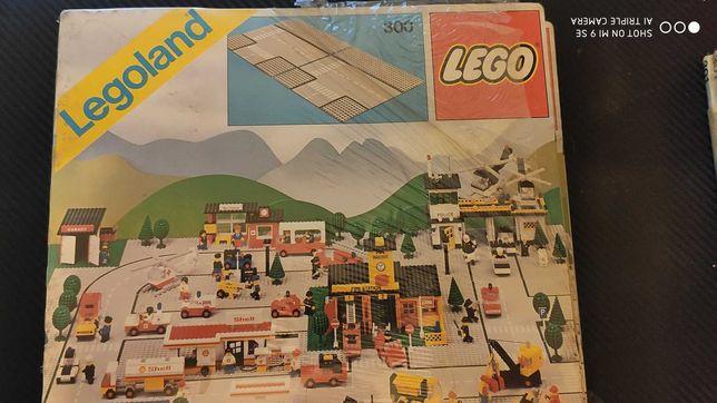 LEGO 300 placas / bases entroncamentos SELADAS de 1978