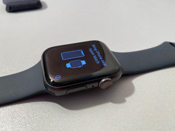 Apple Watch 5 Cellular LTE + GPS Aluminium 44mm Wrocław IDEAŁ