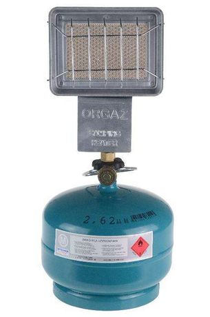 Promiennik ogrzewacz gazowy 1,3 kW SB-601 na butle dla wędkarzy