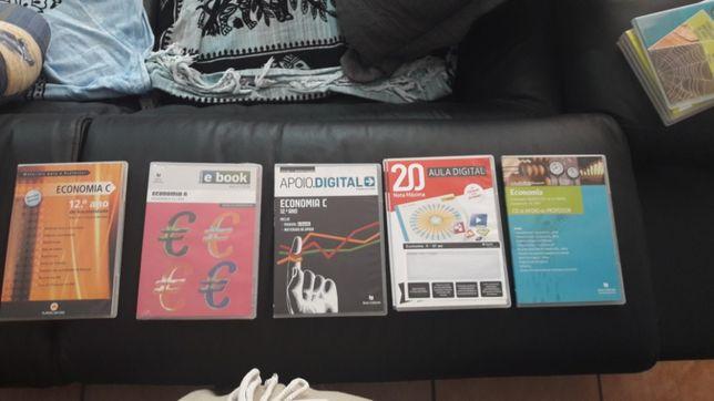 Vendo dvd's de economia por 4€ todos