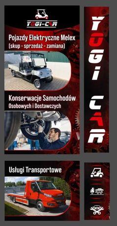 Melex skup k upie ezgo clubcar cała Polska transport elektryk melexa