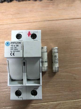 Podstawa rozłączalna  10X38 Z10-TL2/DC1000V/E DC JEAN