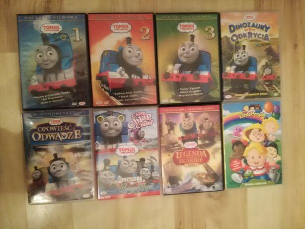 płyty DVD z bajkami Tomek i przyjaciele