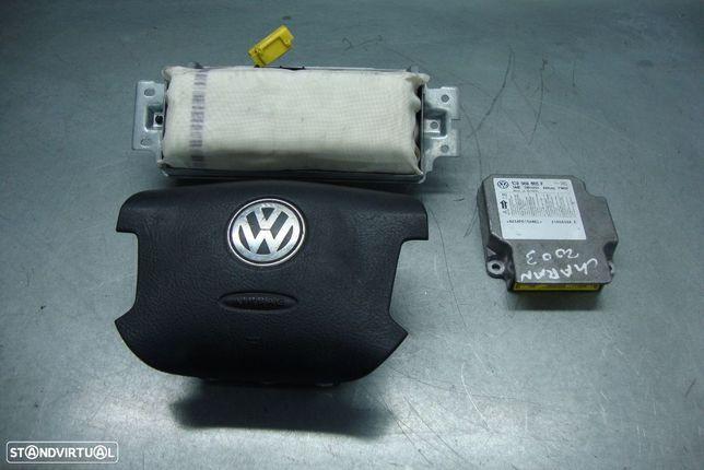 Airbags e centralina VW Sharan, ref. 1C0909605F