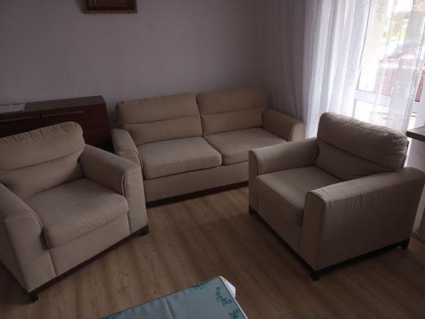 Sofa 3-osobowa z dwoma fotelami