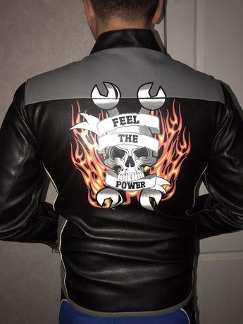 Мото куртка для байкера . Мотокуртка мотоцикл