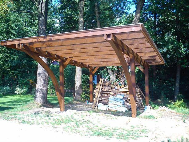 Wiata zadaszenie Caport patio 300cmx500cm pergola
