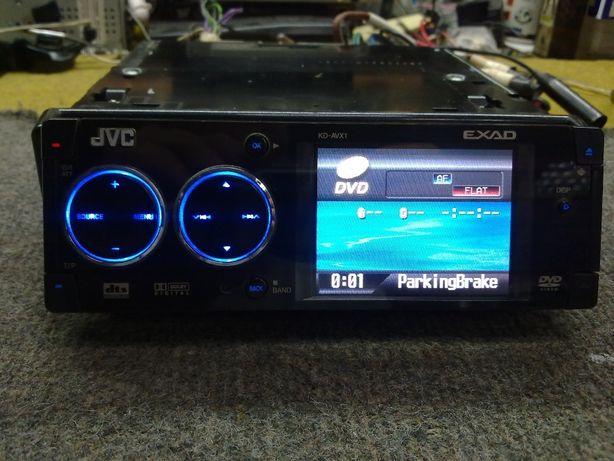 DVD-ресивер со встроенным ЖК-дисплеем JVC KD-AVX1