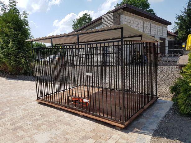 zagroda Klatka kojec Buda dla psa 3x2m Montaż Gratis Solidny
