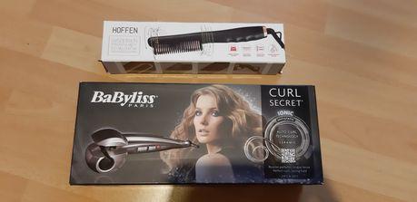 Lokówka automatyczna babyliss grzebień do prostowania włosów