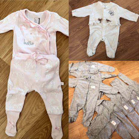 Одежда для новорожденного младенца девочки 0-3 мес