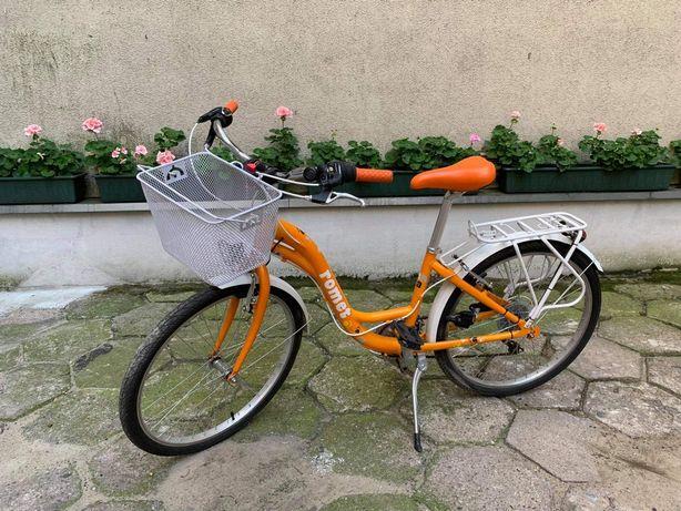 Rower  Romet-Panda 24' młodzieżowy rower 3 biegowy