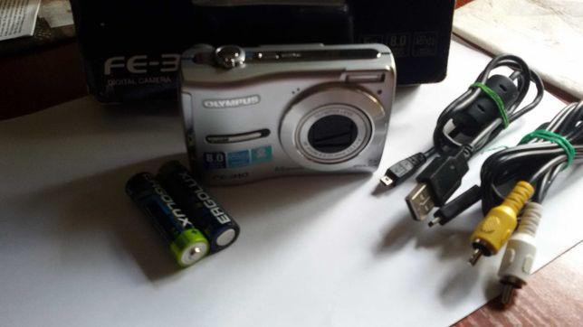Цифровой фотоаппарат Olympus FE-310/8.0 MP/+карта памяти