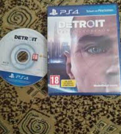 Продам диск ps4 detroit