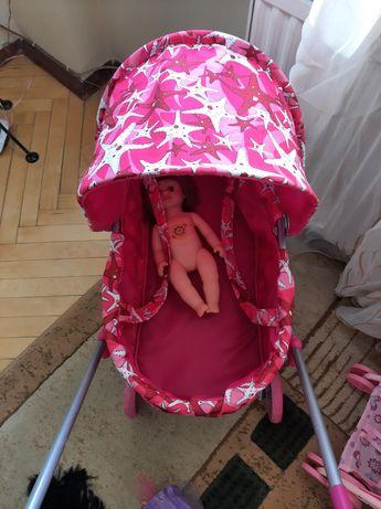 Коляска для ляльок