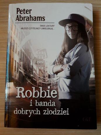 """Peter Abrahams """"Robbie i banda dobrych złodziei"""" WYSYŁKA GRATIS"""