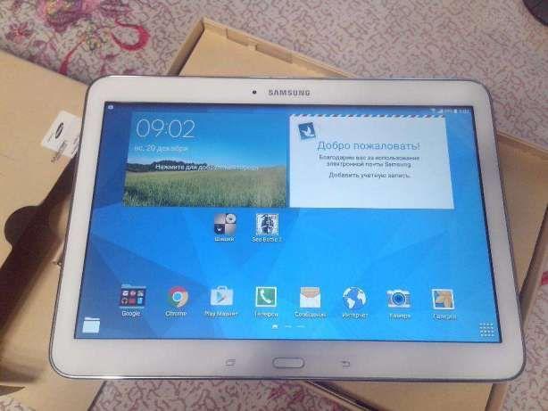 """Планшет Samsung Galaxy Tab 10"""" Белый Sim Самсунг 10 дюймов + Подарок"""