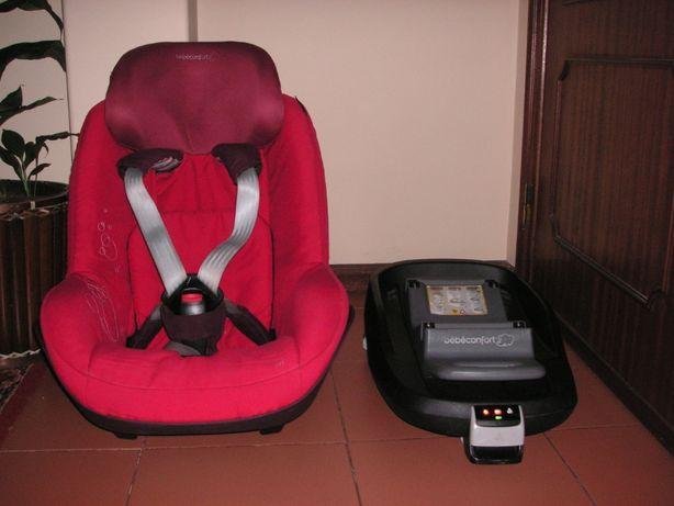 Cadeira Auto Bébé-Confort Pearl + Base FamilyFix ISOFIX