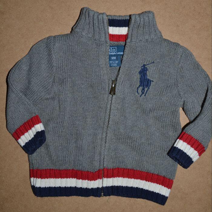 641^ Ralph lauren sweterek na suwak 0,5/1L_80 cm Łowicz - image 1