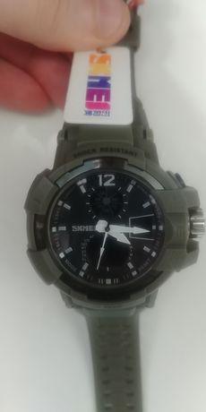 Zegarek SKMEI 1040 męski, styl G-Shock, kolor wojskowy (NOWY)