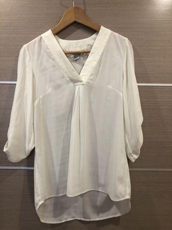 Легкая блузка в стиле оверсайз h&m, 36, S