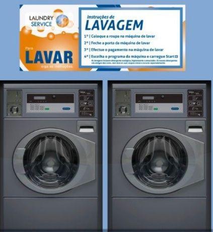 Máquina de lavar Self-service
