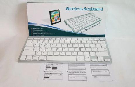 Беспроводная клавиатура Keyboard bk 3001   Компактная клавиатура