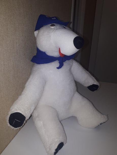 Продам мягкую игрушку большого белого медведя