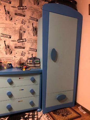 Zestaw mebli IKEA Mamut (szafa+komoda+regał)