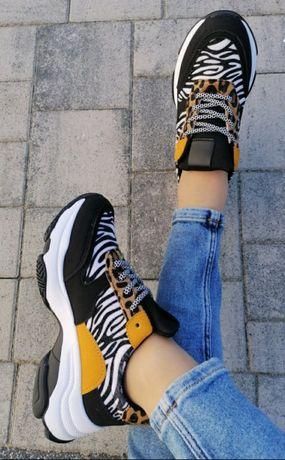 Sportowe buty gruba podeszwa rozm 38
