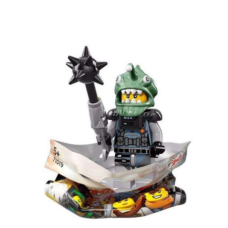 Lego Ninjago Movie Minifigure + Cromos Autocolantes