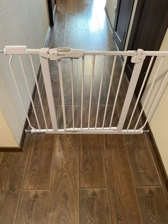 Защита забор на лестницу барьер детский калитка