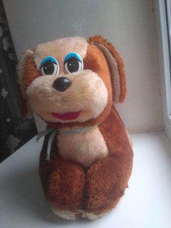 Плюшева іграшка пес