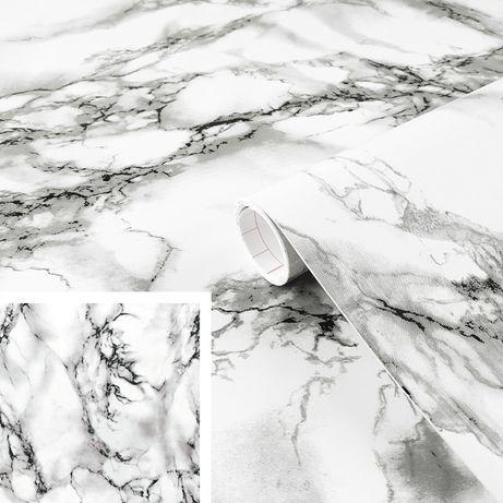 okleina marmur folia samoprzylepna szerokość 45cm