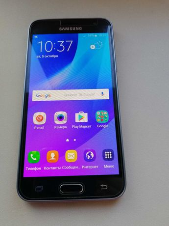 Samsung Galaxy J3 2016 Black
