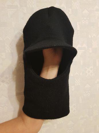Балаклава шапка с козырьком