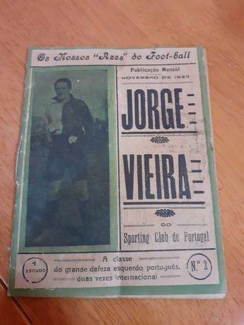 boletim ases do futebol de 1923 raro