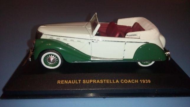 Renault Suprastella 1939 год 1:43масштаб IXO