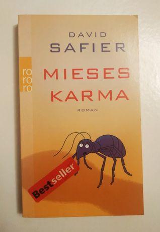 David Safier- Mieses Karma, po niemiecku, niemiecki, Deutsch