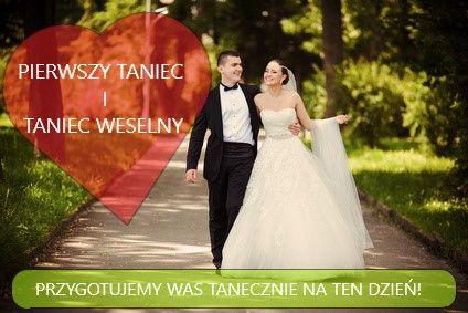 Pierwszy taniec/walc/inny/ choreografia/ taniec weselny/ od podstaw