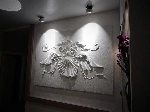 Картины на стенах, лепнина, роспись стен, барельеф