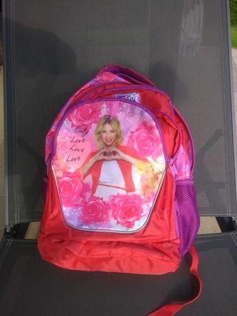 Plecak Violetta Disney. Lekki, wygodny.