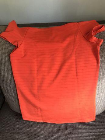 Koszulka z odjrytymi ramionami