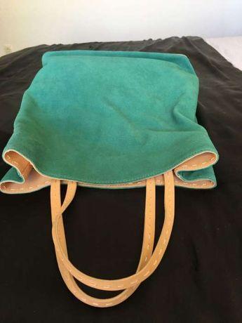 Mala / Carteira Philosophie Shopping bag Verde Camurça