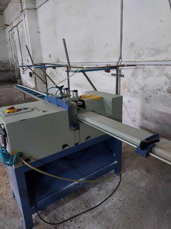 Обладнання станки для виготовлення металопластикових ПВХ вікон виробів