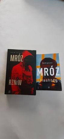 2 książki  R. Mróz