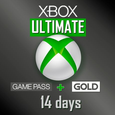 Xbox live gold +Xbox Game Pass Ultimate + EA play  на 14 дней