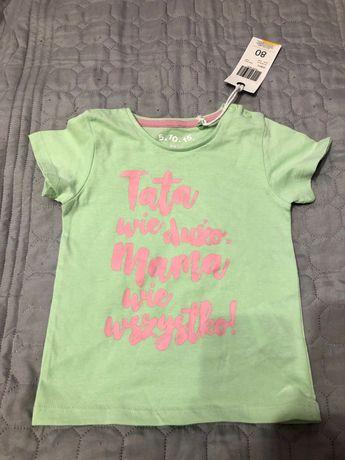 Bluzeczka dziewczęco- niemowlęca