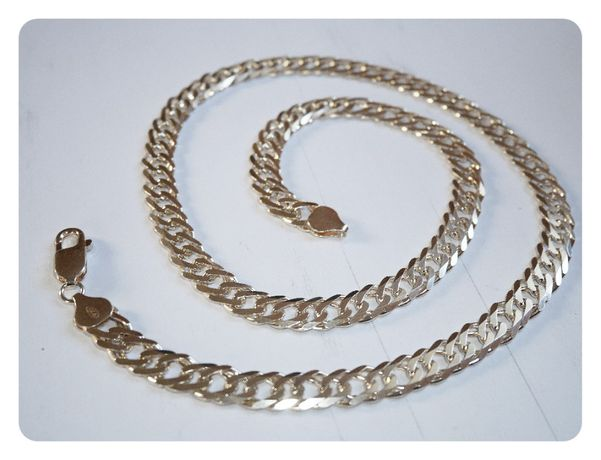 Srebrny 925 włoski łańcuszek RD140/55